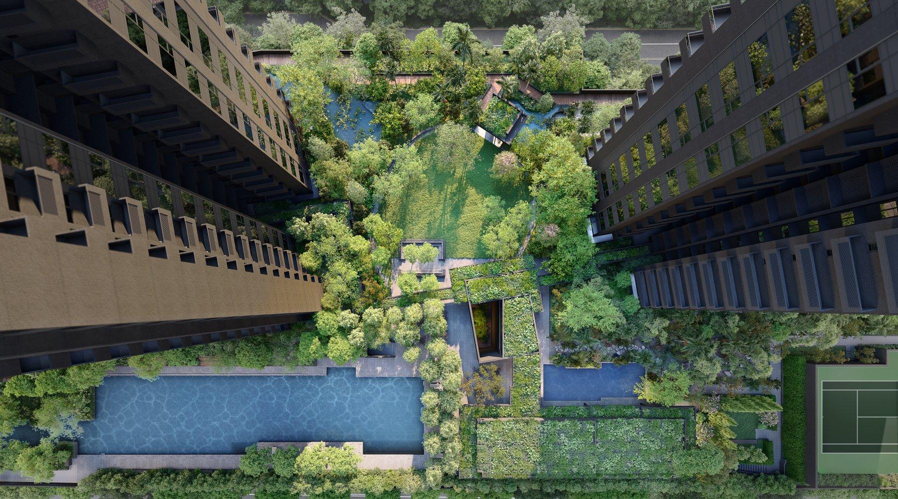 名汇庭苑: 让自然住进城市 11